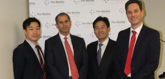 World-leading prostate surgery experts host Wesley Hospital workshop